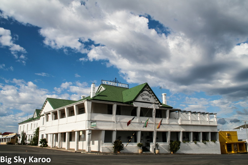 Cradock's Victoria Manor Hotel - like stepping back into the 1850s.