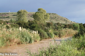The Great Fish River as it is today.