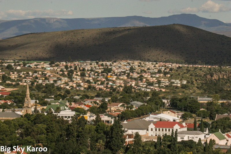 The river town of Cradock, celebrating 200 years.