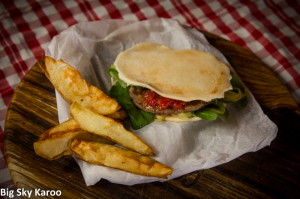 The famous Mila's lamburger was launched at the festival.