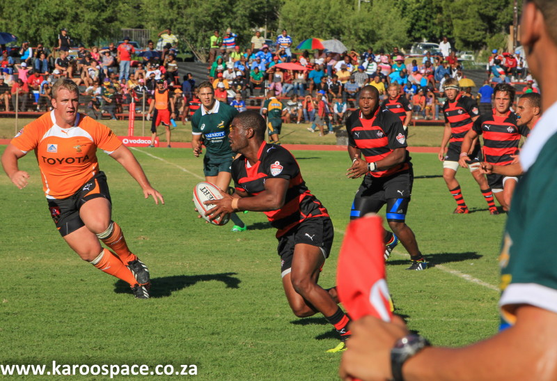 Although the EP Kings lost against the Cheetahs, it was a great day of rugby for Cradock.